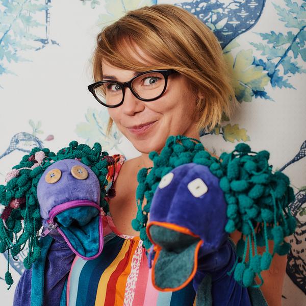 Monika - autorka iprowadząca zajęcia Muzaki